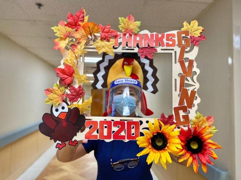 Thanksgiving Selfie Frame 2020 4